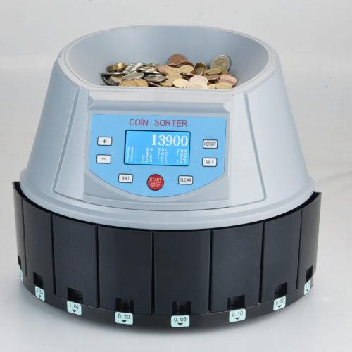 Higher-Speed Coin Sorter HELMET