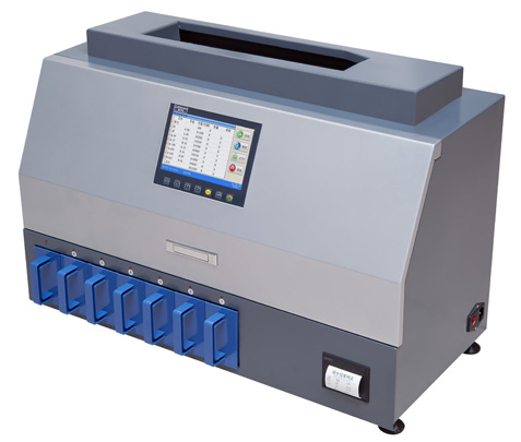Professional high speed Coin Sorter with CF detection CS1000