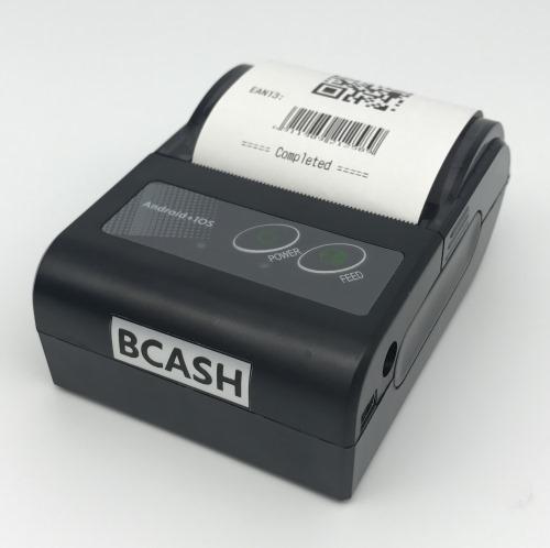 Portable Bluetooth 58mm Receipt Printer BC-58HB4