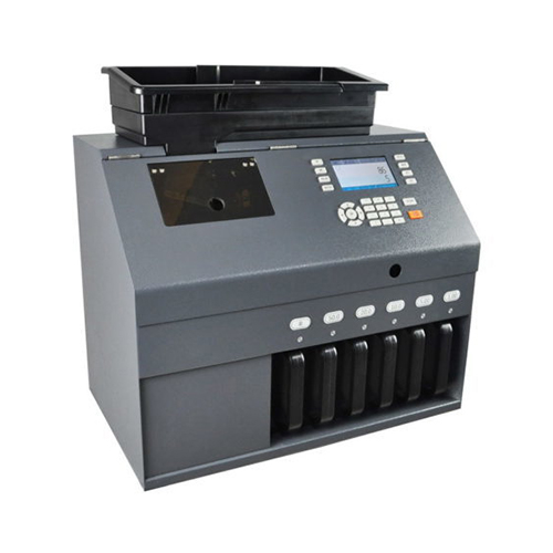 Coin Sorting Machine with Counterfeit Detector L60C